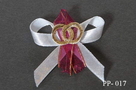 Kokardki weselne PP-017